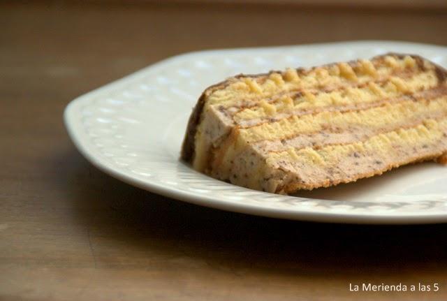 Tarta Rayada by La Merienda a las 5