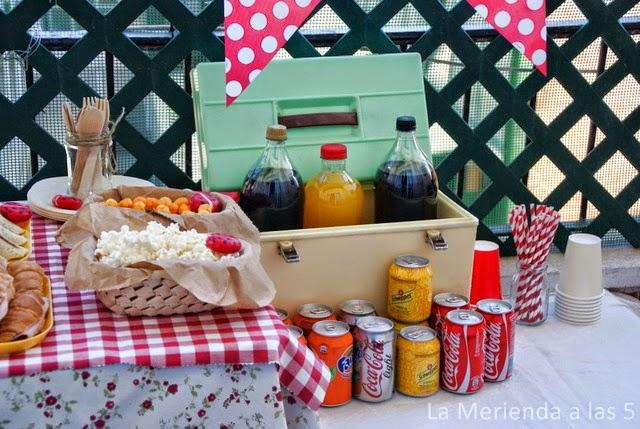 cumple picnic by la merienda a las 5
