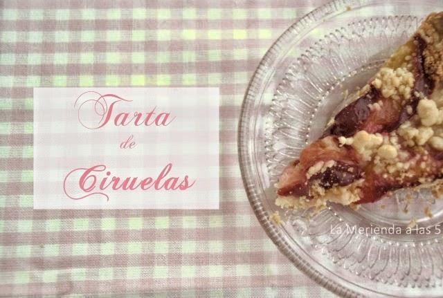 tarta fácil de ciruelas by La Merienda a las 5