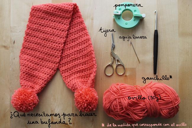 estilo atractivo vende Promoción de ventas Bufanda en crochet by Maria Wolle – La Merienda a las 5