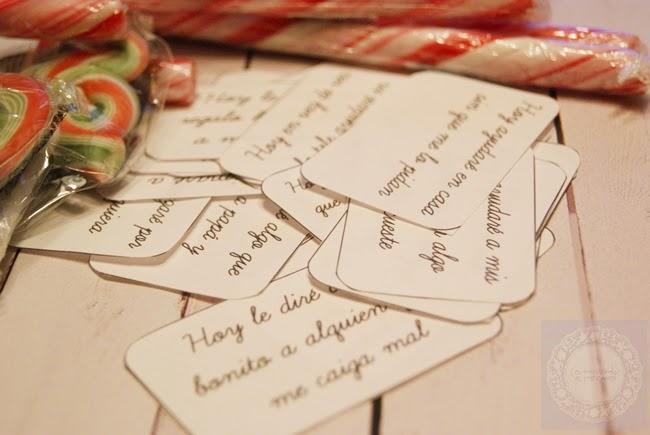 DIY: Calendario de Adviento con mensaje – La Merienda a las 5