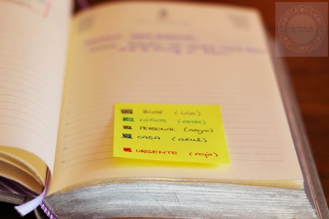 10 ideas para llevar una agenda
