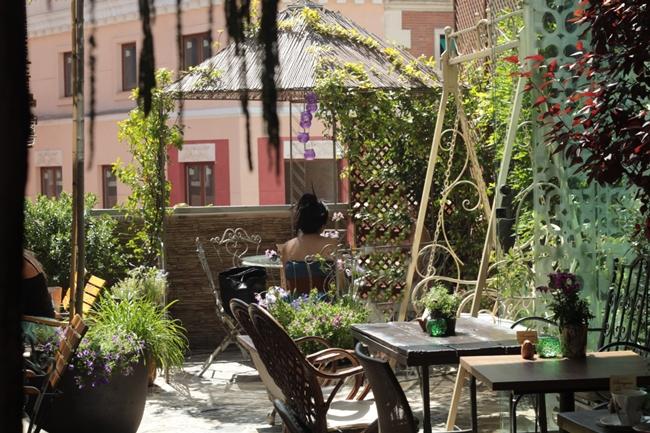 El jardin secreto la merienda a las 5 for Jardin secreto salvador bachiller