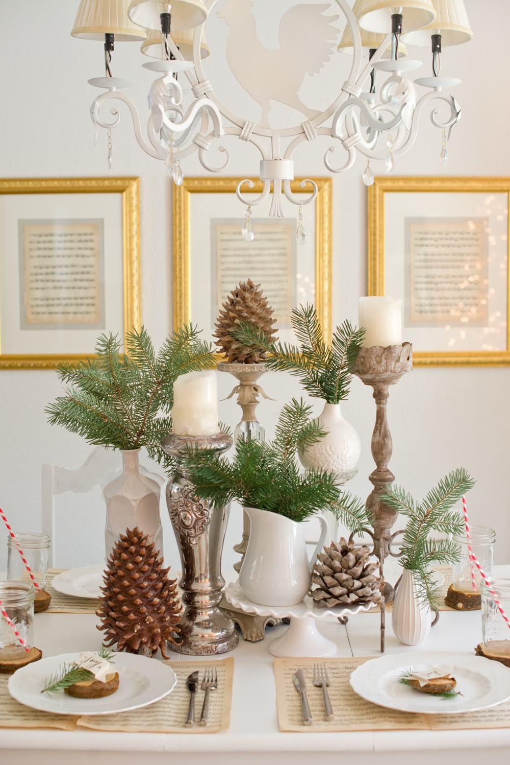 Natural Woodland Christmas Tablescape-22